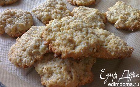 Рецепт Овсяно-творожное печенье
