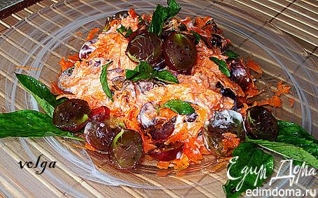Рецепт Салат из крыжовника с морковью и медом
