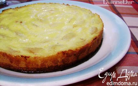 Рецепт Грушевый тарт с нежным кремом