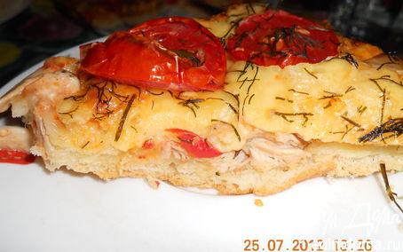 Рецепт Пицца и бонус - ароматное масло