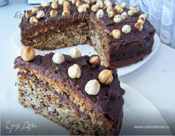 """Ореховый пирог """"Щелкунчик"""" с кофейно-шоколадным кремом"""