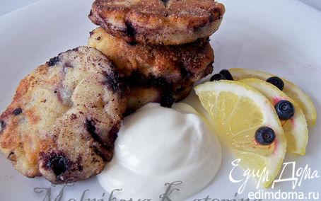 Рецепт Чернично-лимонные сырники