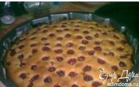 Рецепт Летний вишневый пирог