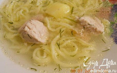 Рецепт чесночный куриный суп