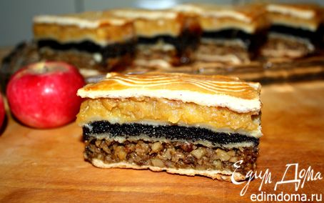 Рецепт Флодни - венгерское яблочное пирожное
