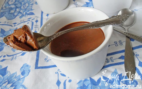 Рецепт Шоколадная пана котта