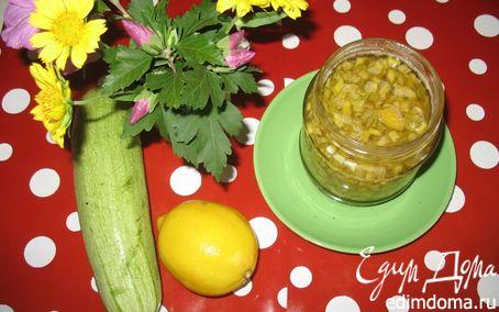 Рецепт Варенье из кабачков и лимона