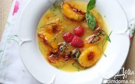 Рецепт Ананасовый суп с абрикосами и базиликом