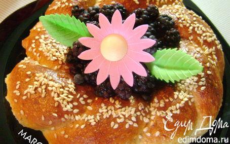 Рецепт Кокосовые венки с маком