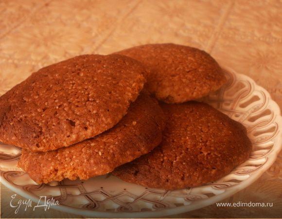 Итальянское миндальное печенье (Biscotti alle mandorle)