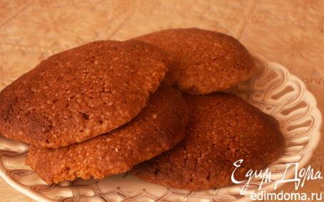 Рецепт Итальянское миндальное печенье (Biscotti alle mandorle)