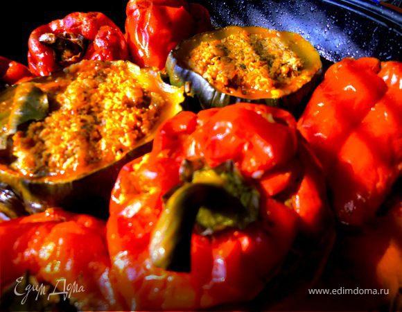 Дружные овощи с мясом и гречкой