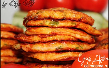 Рецепт Помидорно-кабачковые оладушки