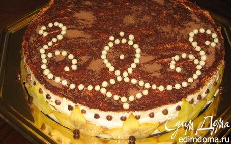 Рецепт Дынный торт-тирамису