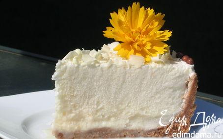 Рецепт Торт-мороженое из дыни на ванильных сухариках
