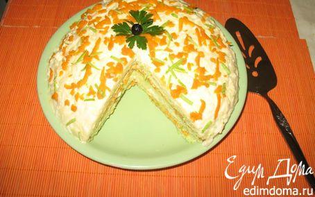 Рецепт Кабачковый торт (закусочный)