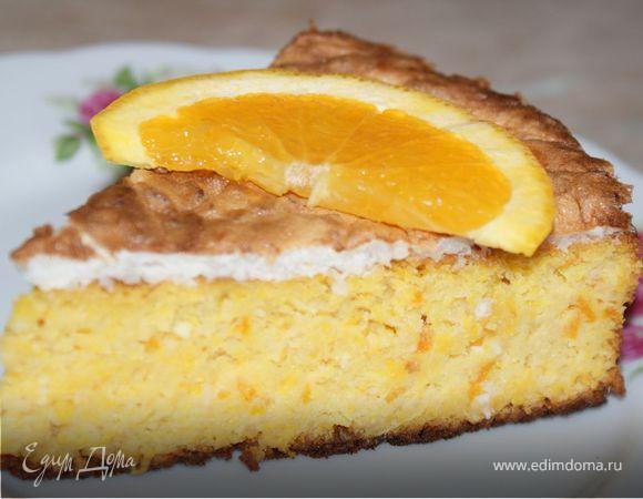 Миндально-апельсиновый пирог