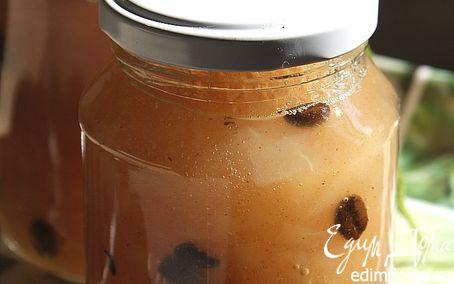 Рецепт Варенье из груш с кофейными зернами