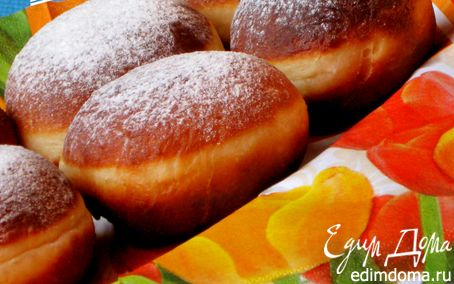 Рецепт Берлинские пончики (Berliner Pfannkuchen)