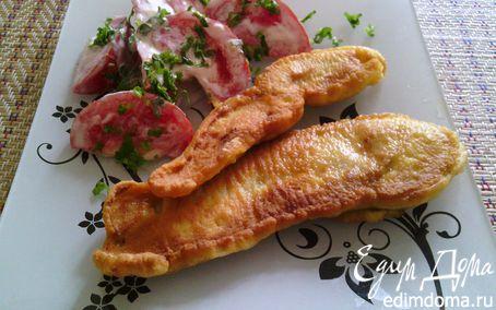 Рецепт Куриная грудка в кляре (маринованная в бальзамическом уксусе)