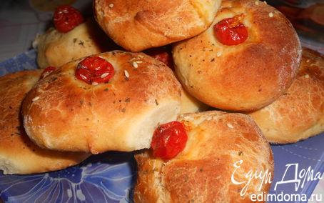 Рецепт булочки с помидорками черри