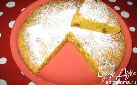 Рецепт Сладкий пирог из моркови и кабачка