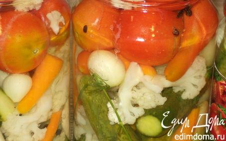 Рецепт Овощное ассорти