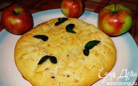 Рецепт Галета с карамелизированными яблоками