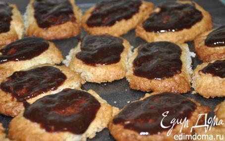Рецепт Кокосовое печенье с шоколадом