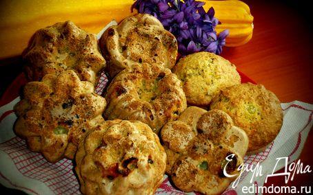 Рецепт Кабачковые кексы с виноградом и семечками
