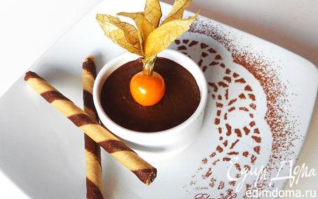 Рецепт Шоколадно-кокосовый мусс