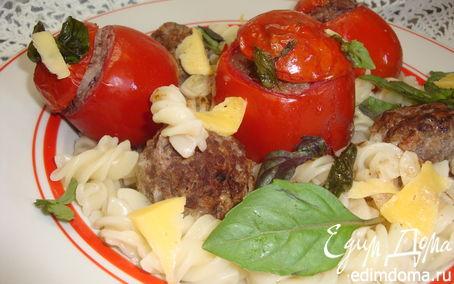 Рецепт Паста с фаршированными томатами