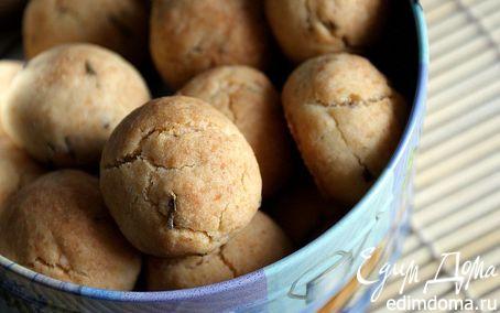 Рецепт Кокосовое печенье с лавандой