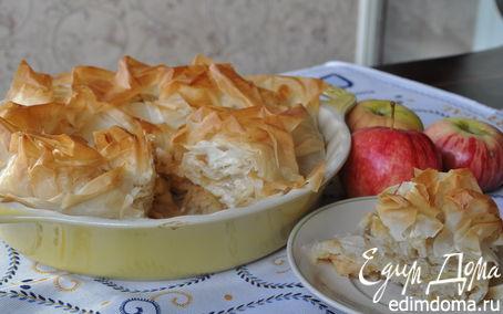 Рецепт Гасконский яблочный пирог от Дж. Оливера