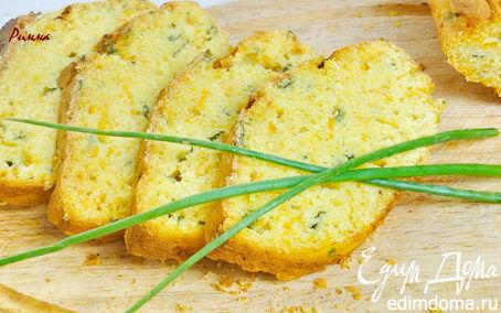 Рецепт Тыквенный закусочный кекс с зеленым луком