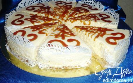 Рецепт Лимонный шифоновый торт-суфле
