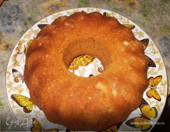Кекс лимонный