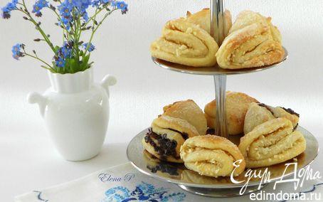 Рецепт Простое творожное печенье с цукатами, орехами, шоколадом