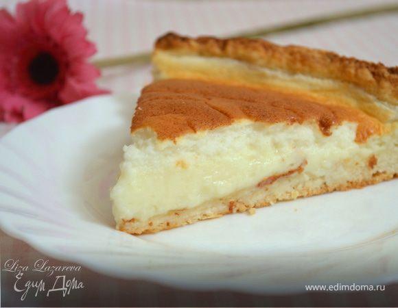 """Молочно-творожный пирог """"Воздушный поцелуй"""" (готовим с HQС)"""