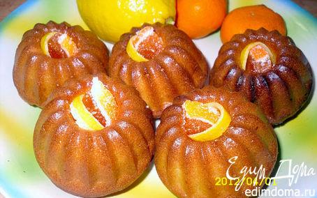 Рецепт Кексы лимонные