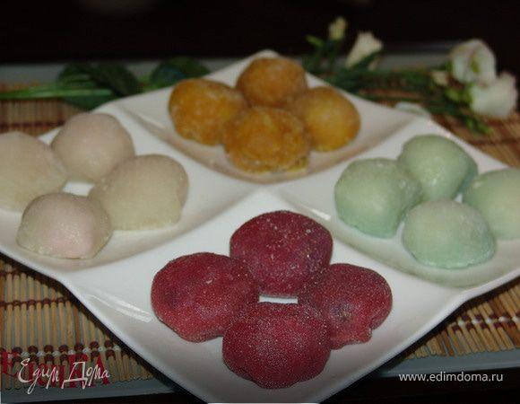 Мочи - японский десерт (Mochi Balls)