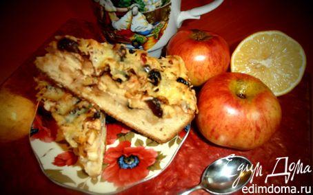 Рецепт Пирог яблочный с сыром