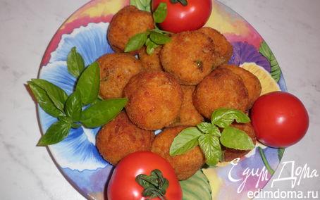 Рецепт Рисовые шарики Аранчини (Arancini)