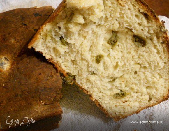 пивной хлеб с каперсами