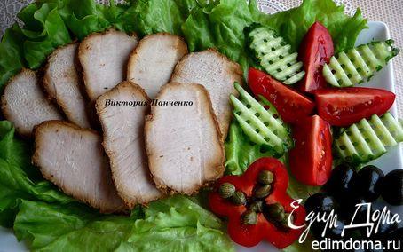 Рецепт Карбонат к завтраку (из мультиварки)