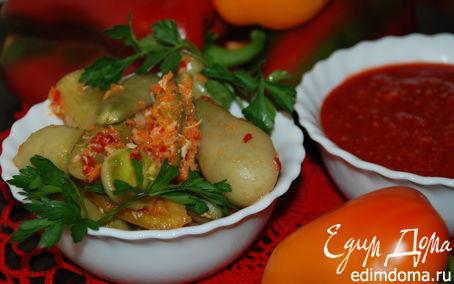 Рецепт Закуска из зеленых помидоров