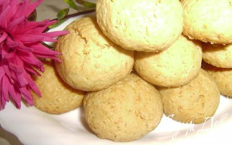 Рецепт Вкусное кокосовое печенье