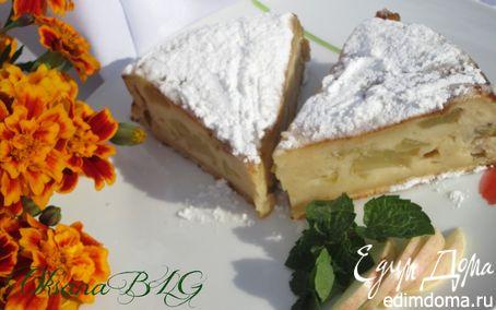 Рецепт Яблоки в креме