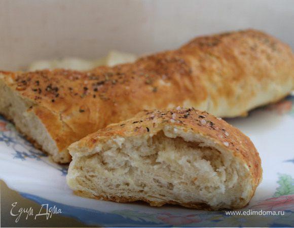 Хлеб с сыром и Итальянскими травами
