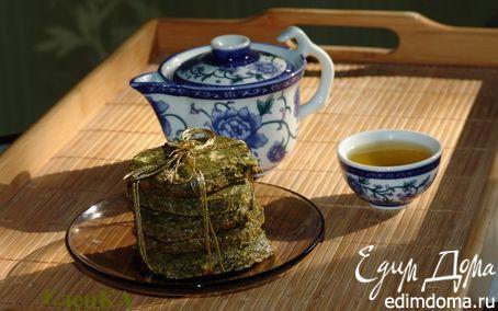 Рецепт Печенье из зеленого чая с белым шоколадом